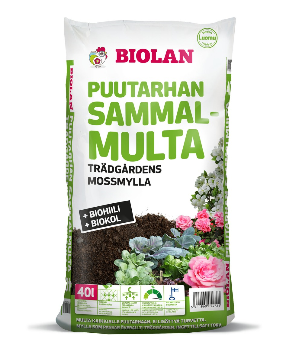 Biolan Puutarhan Sammalmulta 40L (1)