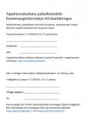 Infoa paikallislehdelle, Info till lokaltidningen