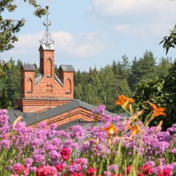 Patruunans trädgård - Värdlsarvsobjekt Verla träsliperi och pappfabrik