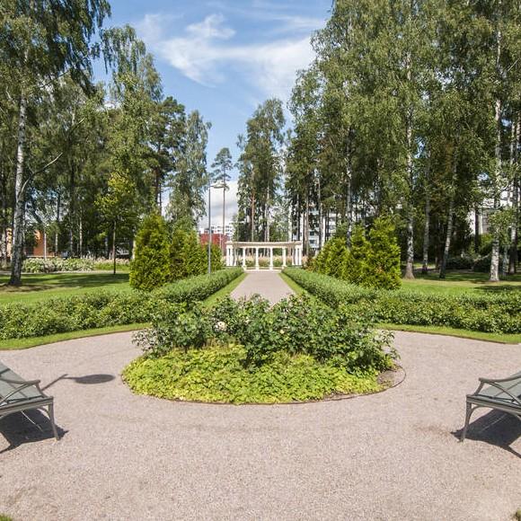Lillkallvikens park