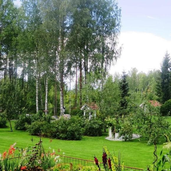 Kirsis och Juhas trädgård