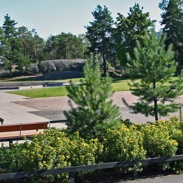 Kiille parken och Täljstensparken