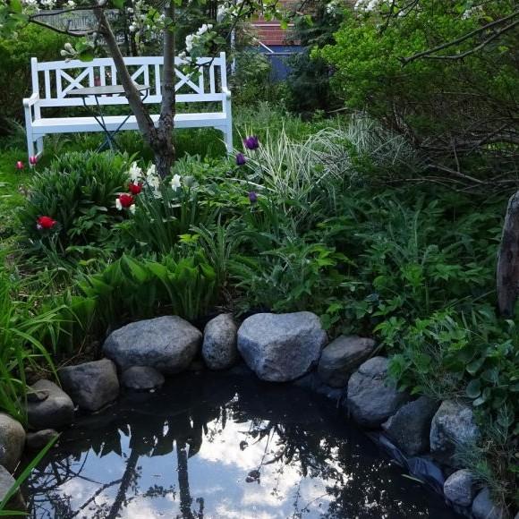 Aurinkomäentien puutarha