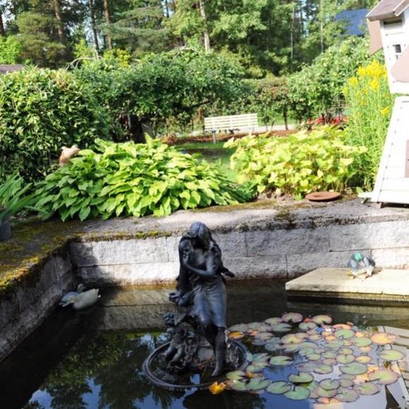 Birgitan romanttinen puutarha