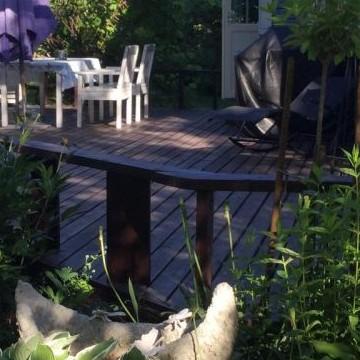 Leenan puutarha