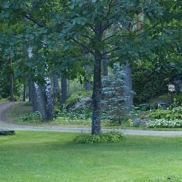 Annukkas och Ilmos hemträdgård