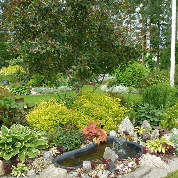 Tuomistos trädgård