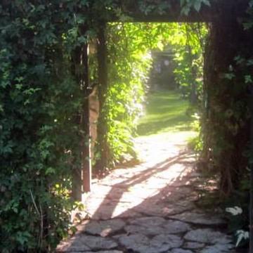 Aili Lahtinen trädgård