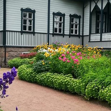 brukspatronens trädgård