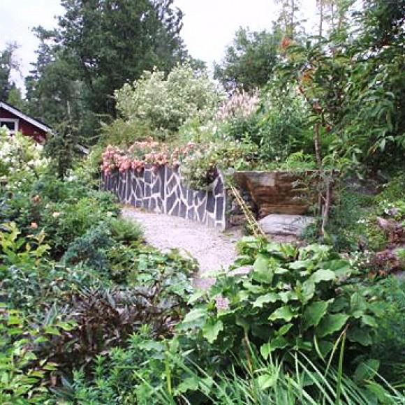 Inge-Mays trädgård