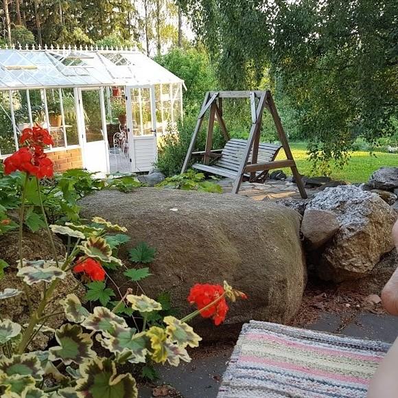 Pertti-papan puutarha