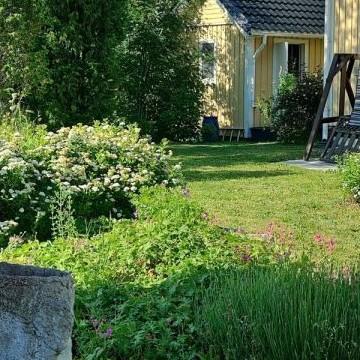 Essin ja Jannen puutarha Ratakallio