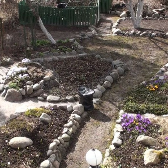 Tuula Nikkilän puutarha