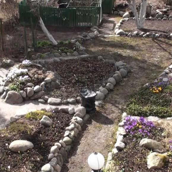 Tuula Nikkiläs trädgård