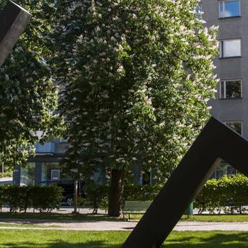 Hesperia parken och esplanaden