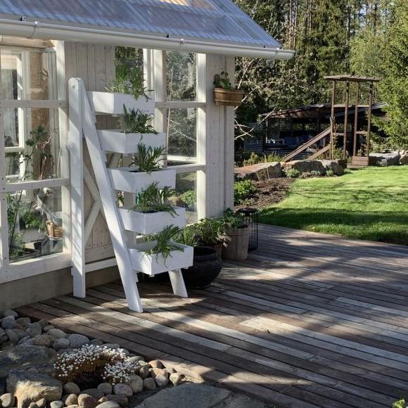 Huistinojan puutarha