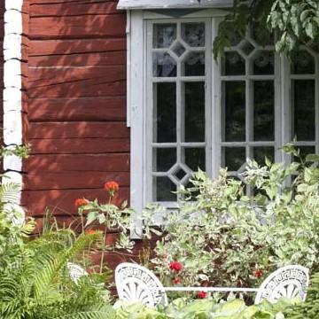 Hanna-Liisa och Niilo Kuoppalas trädgård