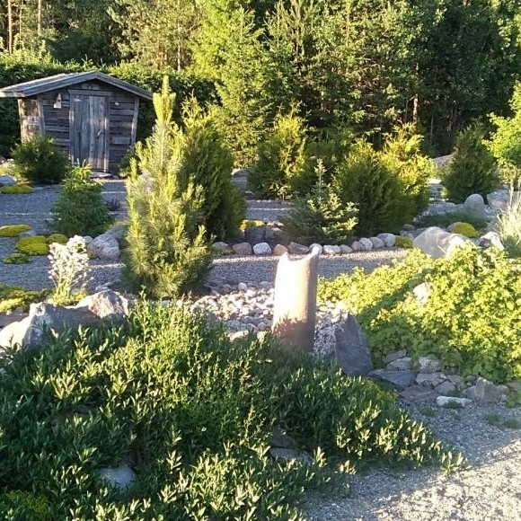Havuskylän kivipuutarha