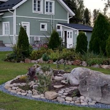 Tiinan kivi-&kukkatarha