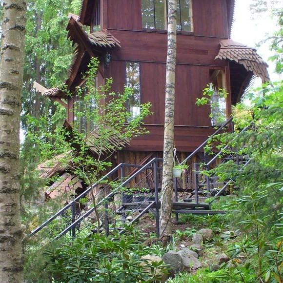 Honkamajan metsäpuutarha