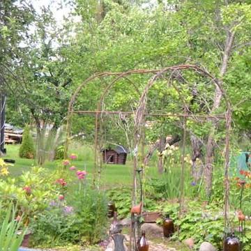 Leena Latvalas trädgård