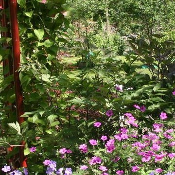 Bernts och Märthas trädgård