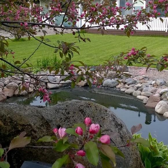 Satun puutarha