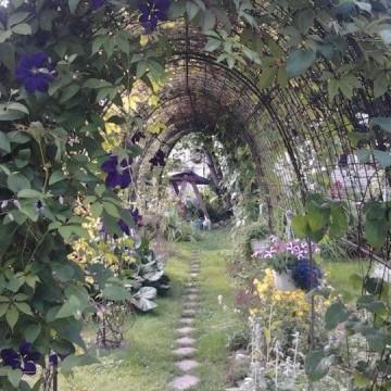 Irene och Jaakko Lémans trädgård