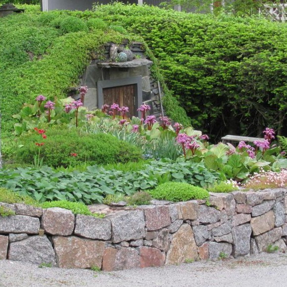 Paulan ja Topin puutarha