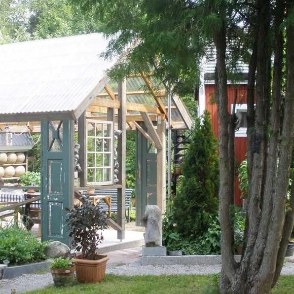 Anja och Detlevs trädgård