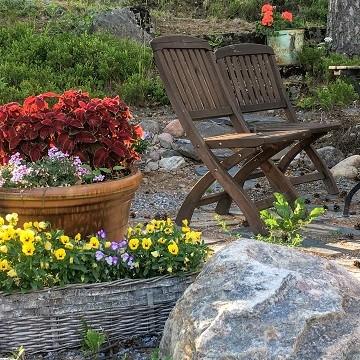 Päivölän puutarha