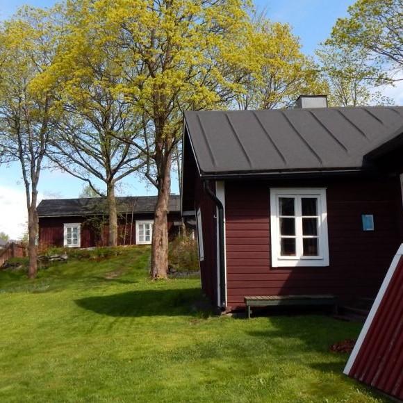Ronttismäki-museets trädgård