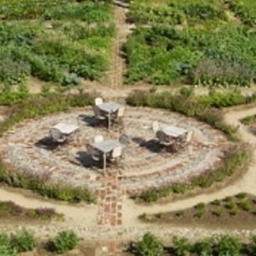 Tertin kartanon puutarha