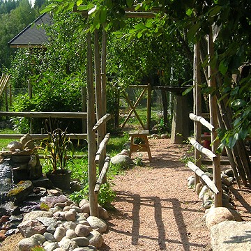 Vilkkeens trädgård