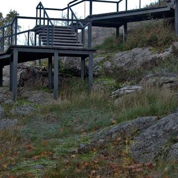 Kellomäki, Kirkkorinne ja Kustaa Vaasan puisto