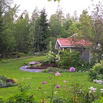 Pihasisustamon puutarha